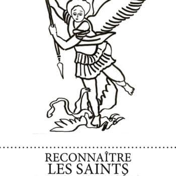 Dessin de L'archange Saint Michel