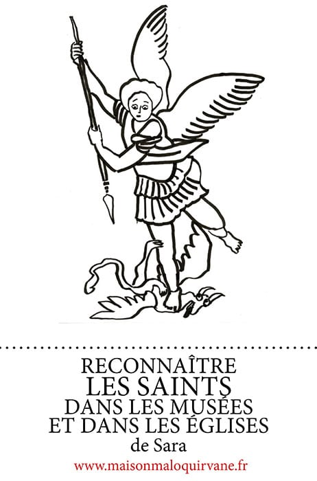 Dessin de L'archange Saint Michel